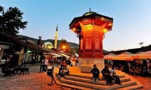 Площадь Башчаршия — Сараево