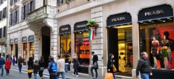 Подробности шоппинга в разных городах Италии