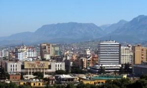 Город Тирана — Албания