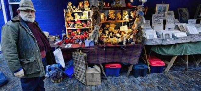 Блошиный рынок на Портобелло-роуд — Лондон