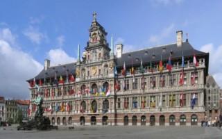 Ратуша, Антверпен — Бельгия