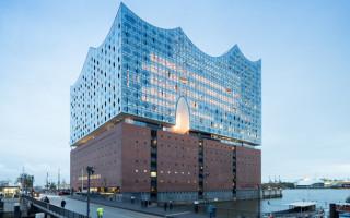 Необычная архитектура Гамбургской филармонии на Эльбе