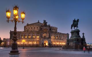 Дрезденская опера – один из самых красивых театров мира