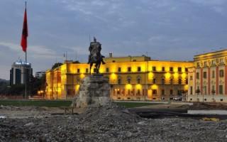 Площадь Скандербега – центральная площадь Тираны