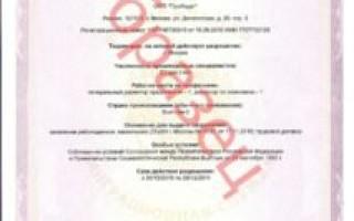 Образец приглашения на работу от иностранного работодателя
