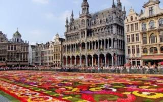 Площадь Гранд Пляс — Брюссель