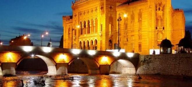 Город Сараево — столица Боснии и Герцеговины