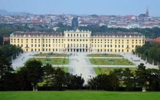 Дворец Шенбрунн — Вена
