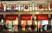 Магазин игрушек Hamleys в Лондоне
