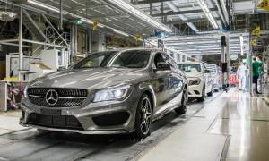 Производство автомобилей Мерседес в Германии